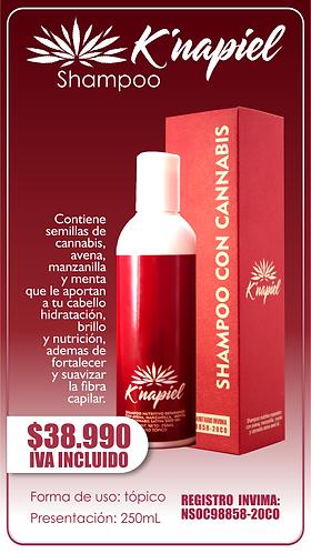 K´napiel Shampoo con Cannabis DMI