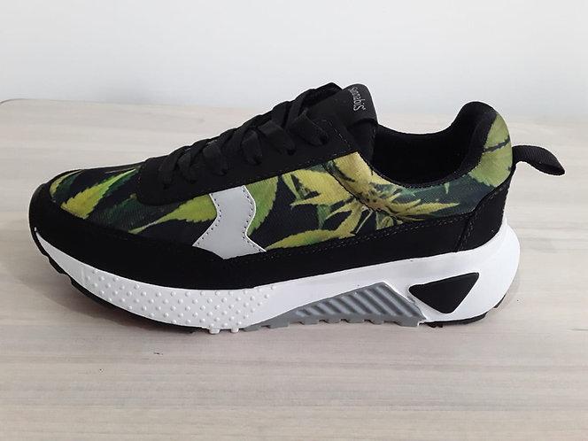Zapatos Sport Sannabis Negros DMI