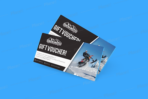 $250.00 Snowmoto Giftcard