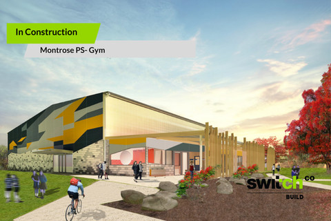 MONTROSE PS – GYM – IN CONSTRUCTION