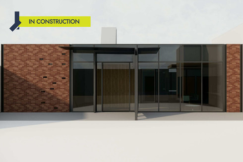 Law Court - Basement, Lift and extension
