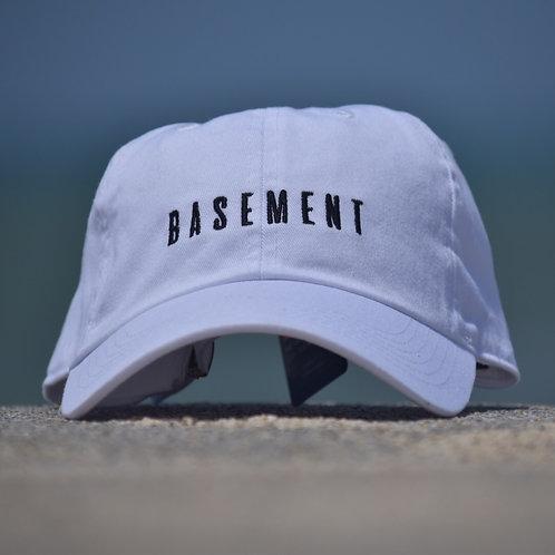 BASEMENT× SunsB CAP WHITE