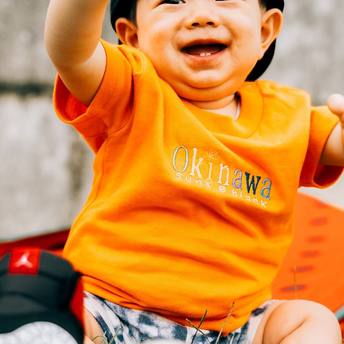 9月中旬発送予定KIDS Tシャツ2020 Okinawa刺繍LOGO