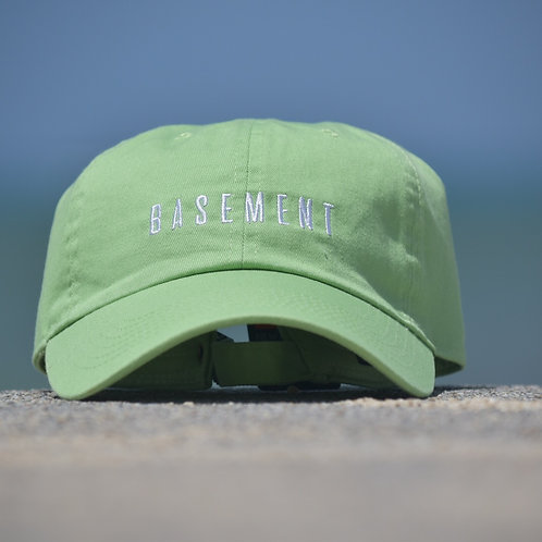 BASEMENT× SunsB CAP LIME GREEN