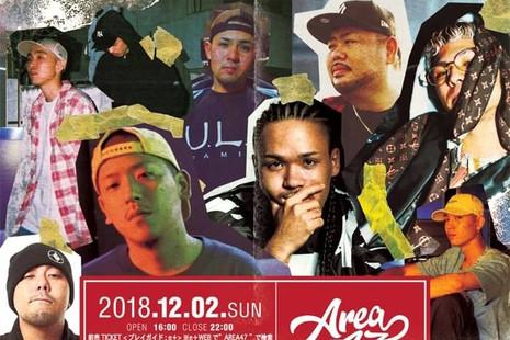 AREA47 @CLUB HARLEM TOKYO 2018.12.02(SUN)