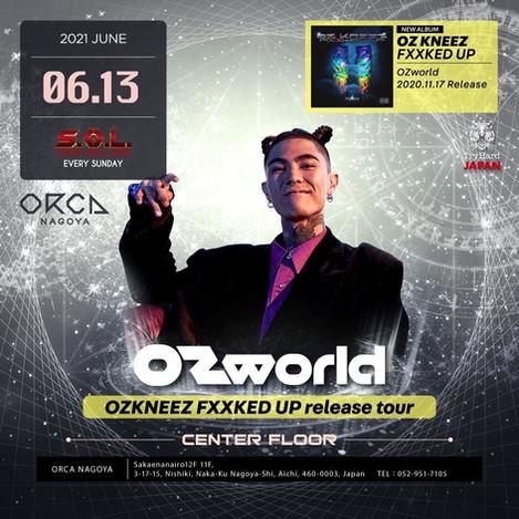 2021.06.13(SUN) @ORCA NAGOYA OZ KNEEZ FXXKED UP release tour