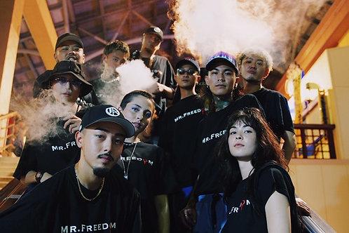 7月中旬発送予定 G+OKINAWA 支援 MR FREEDOM 1st OFFICIAL Tシャツ