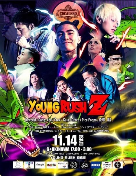 2020.11.14(SAT) YOUNG RUSH Z @G +Okinawa
