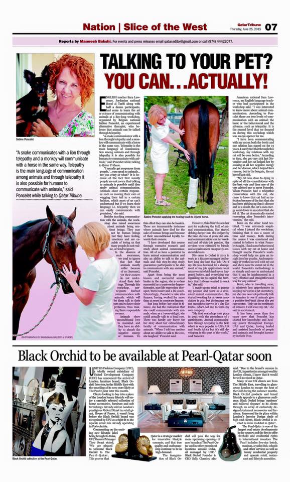 Qatar Tribune Newspaper- June 25th.