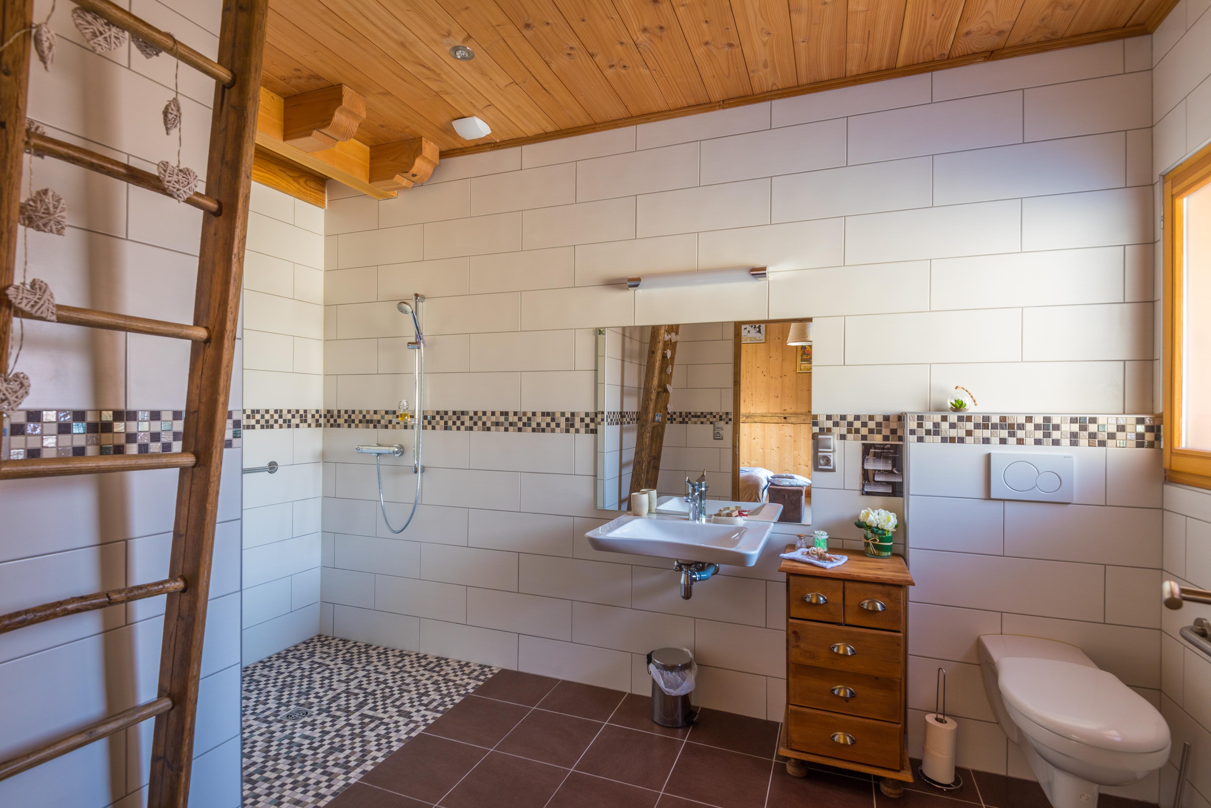 la salle de bain Pointe Percée