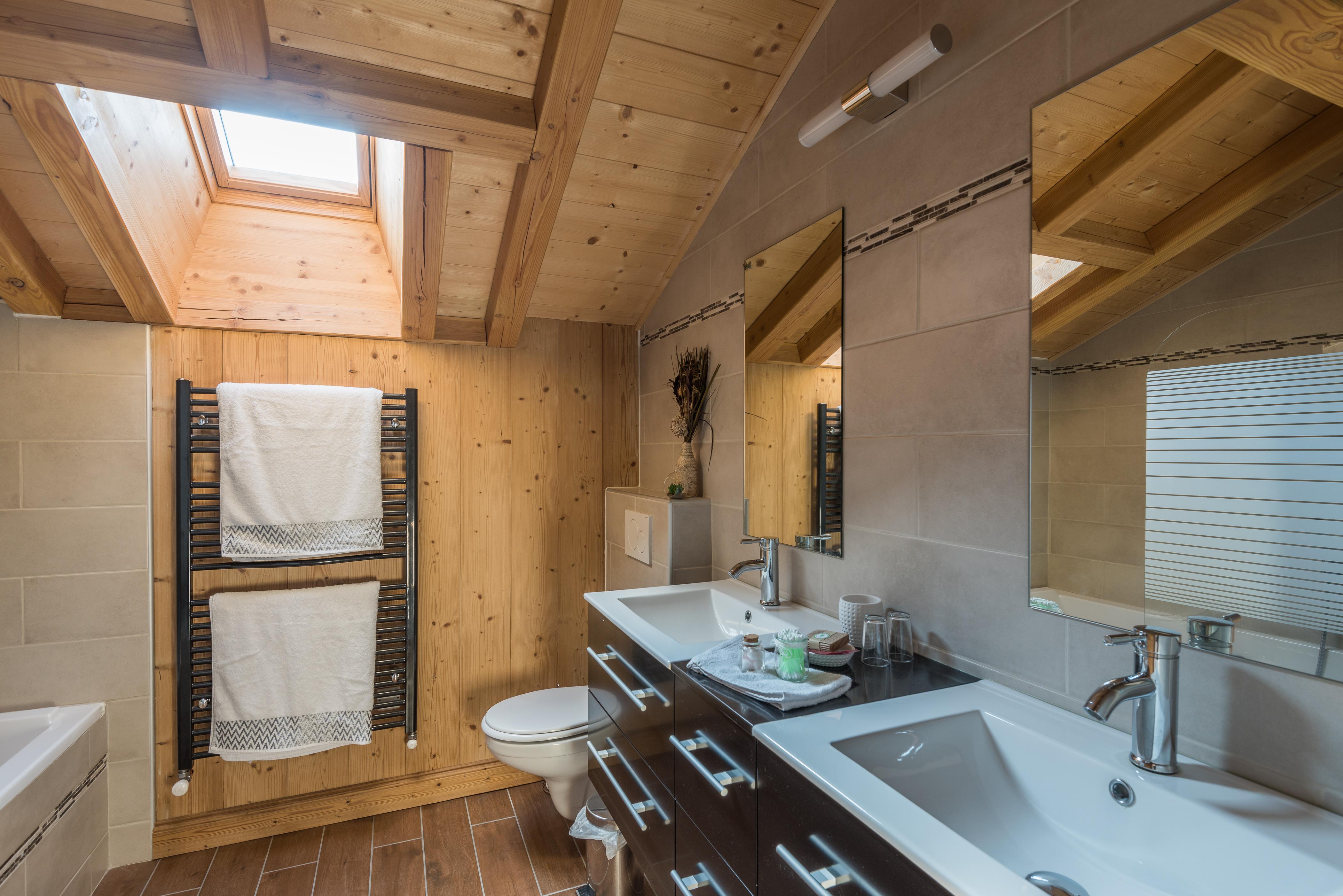salle de bain les Aravis