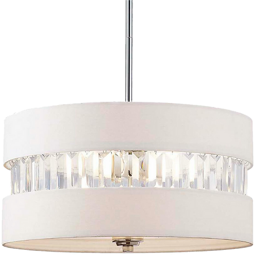Ethelinde 3-Light Drum Chandelier