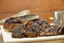 ニュージーランド産ラムもも肉の低温ロースト