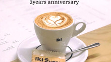 We celebrated the 2nd anniversary of opening iki ESPRESSO