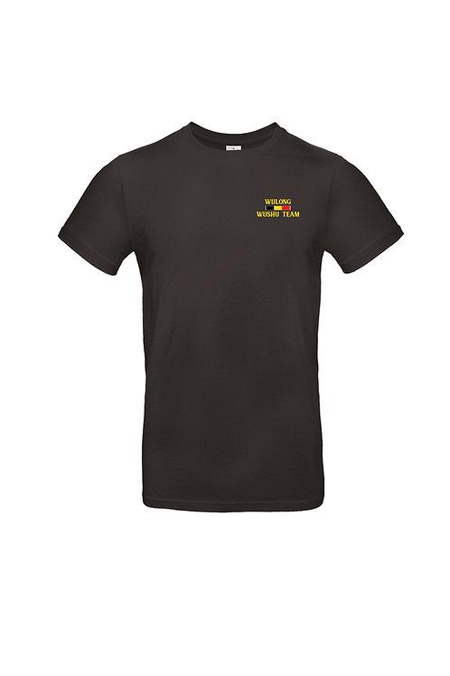 Tee-shirt noir coton