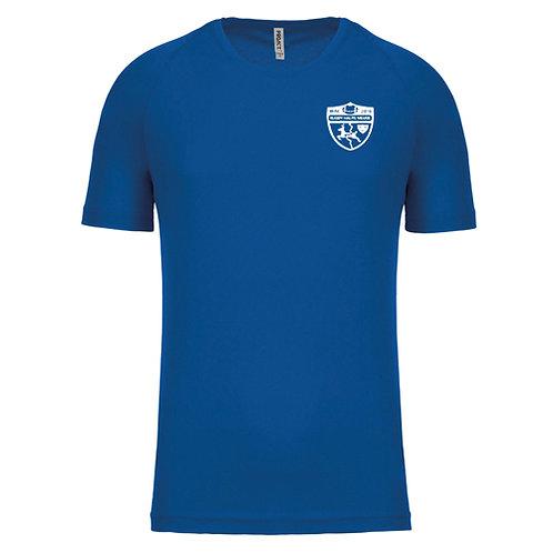 RHM T-shirt d'entraînement royal
