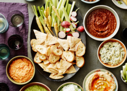Party Dips and Salsa