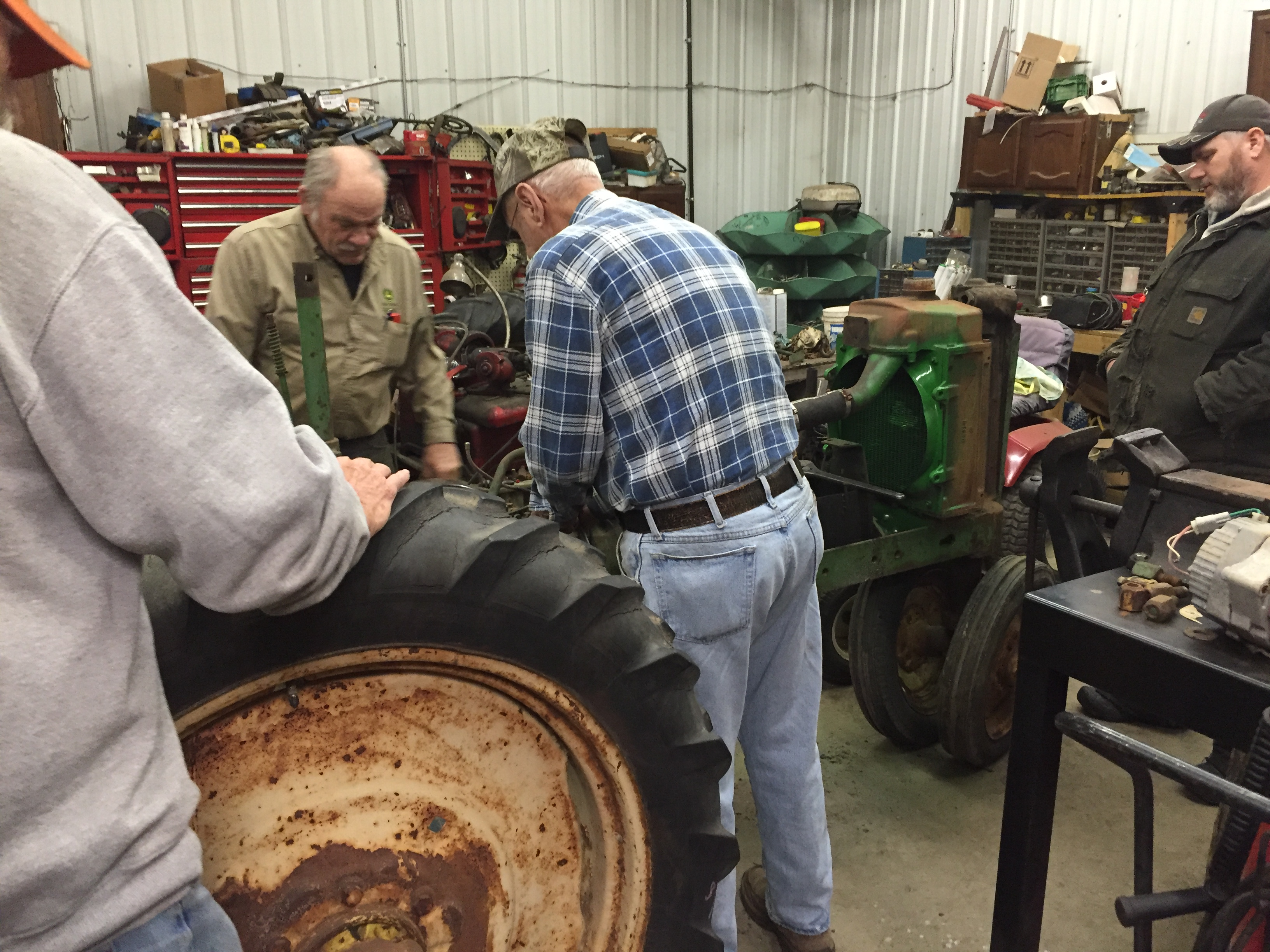 Restoring An John Deere H