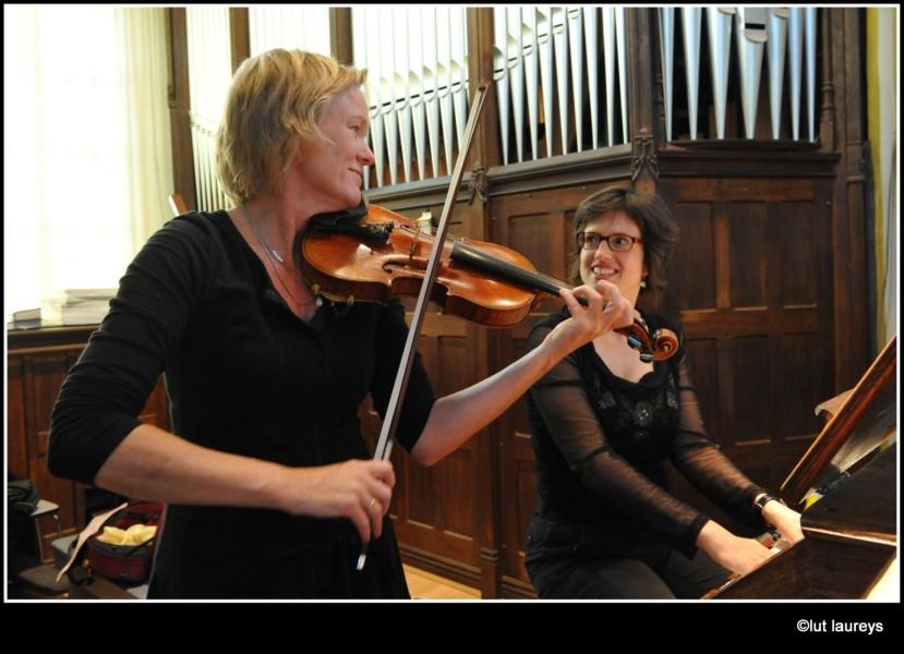 Sandra Van der Gucht, orgel