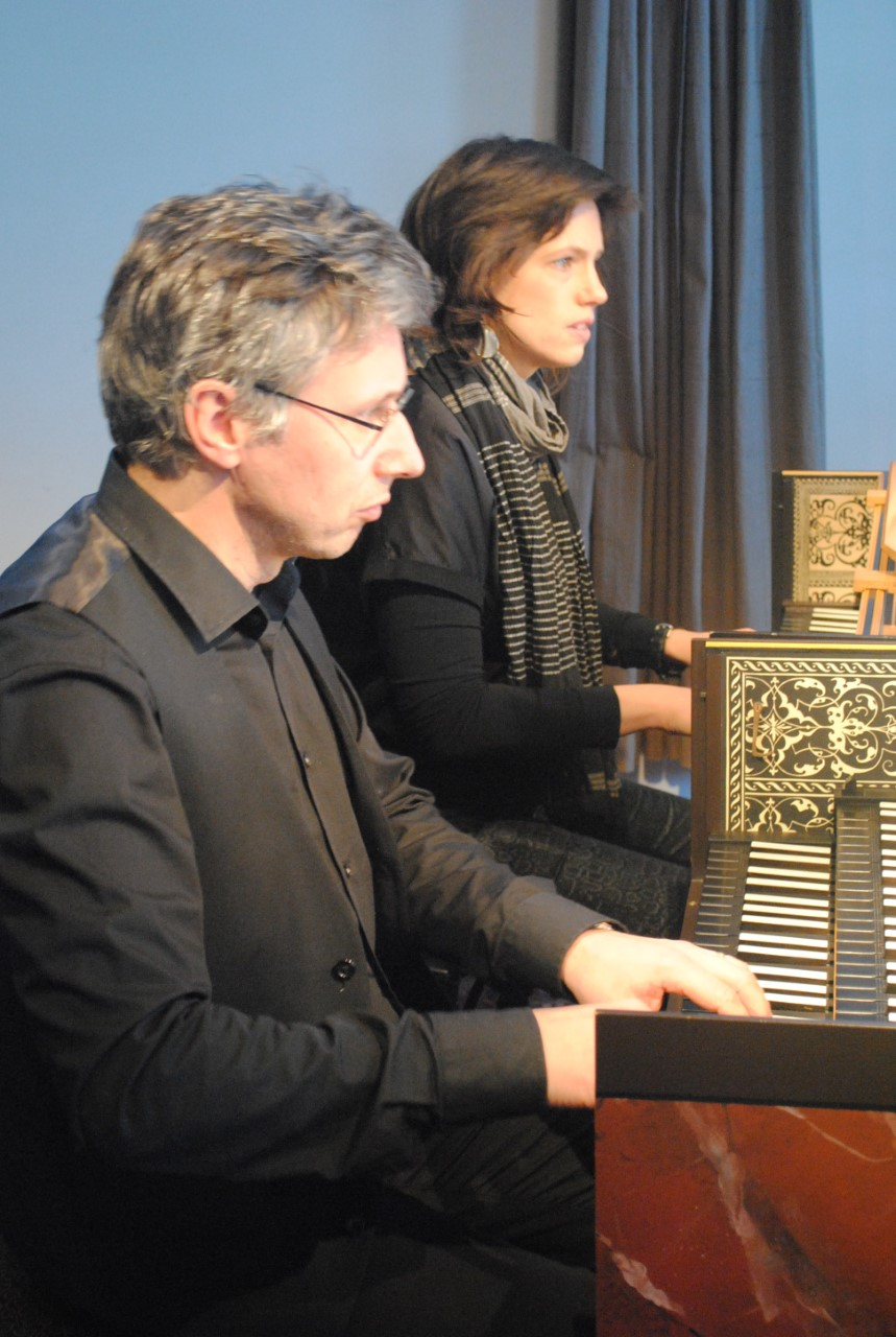 Sandra Van der Gucht, klavecimbel