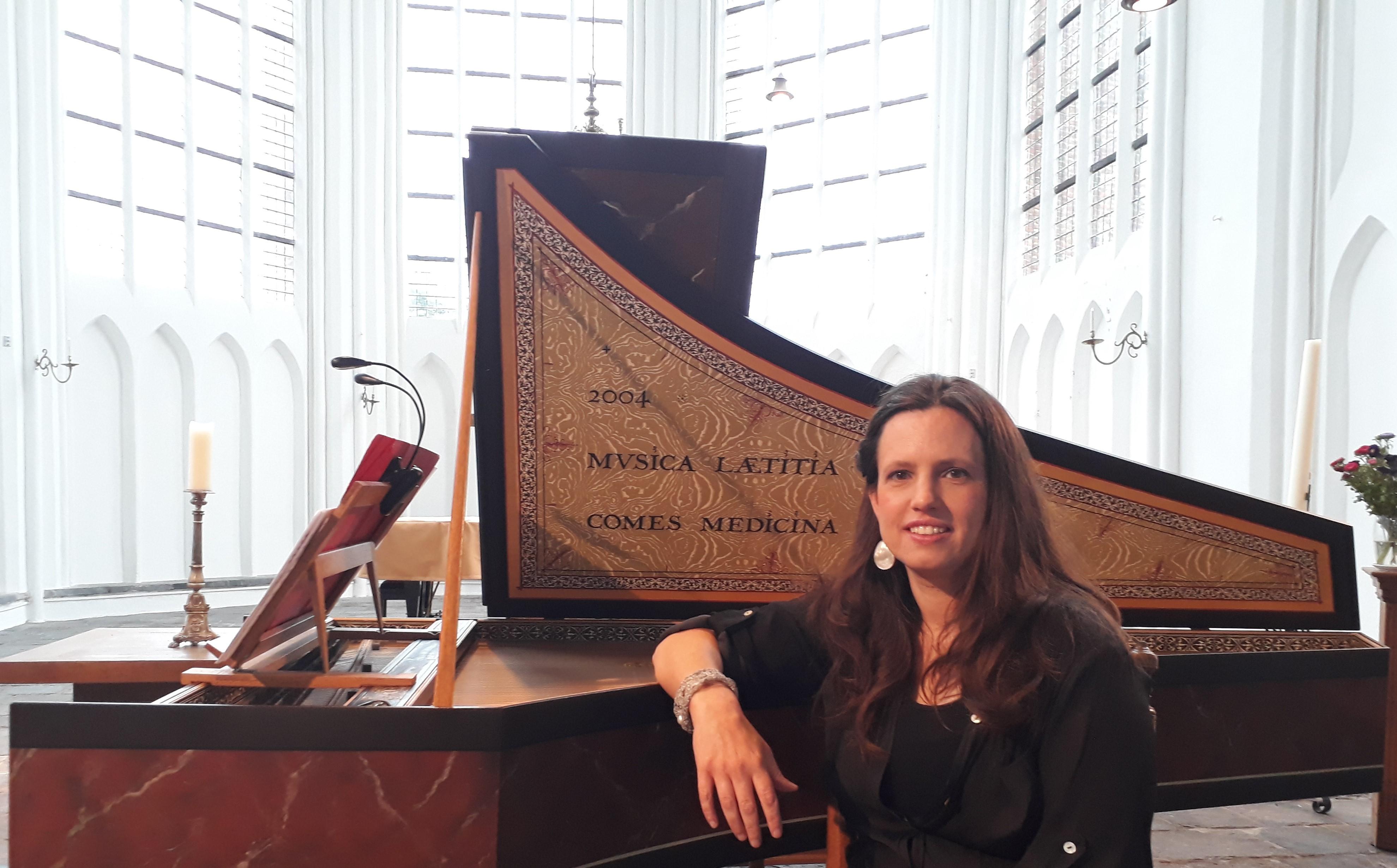 Sandra Van der Gucht klavecimbel