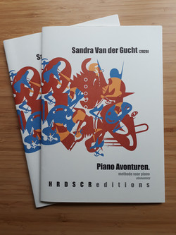 Piano-Avonturen Sandra Van der Gucht, Hardscore Editions