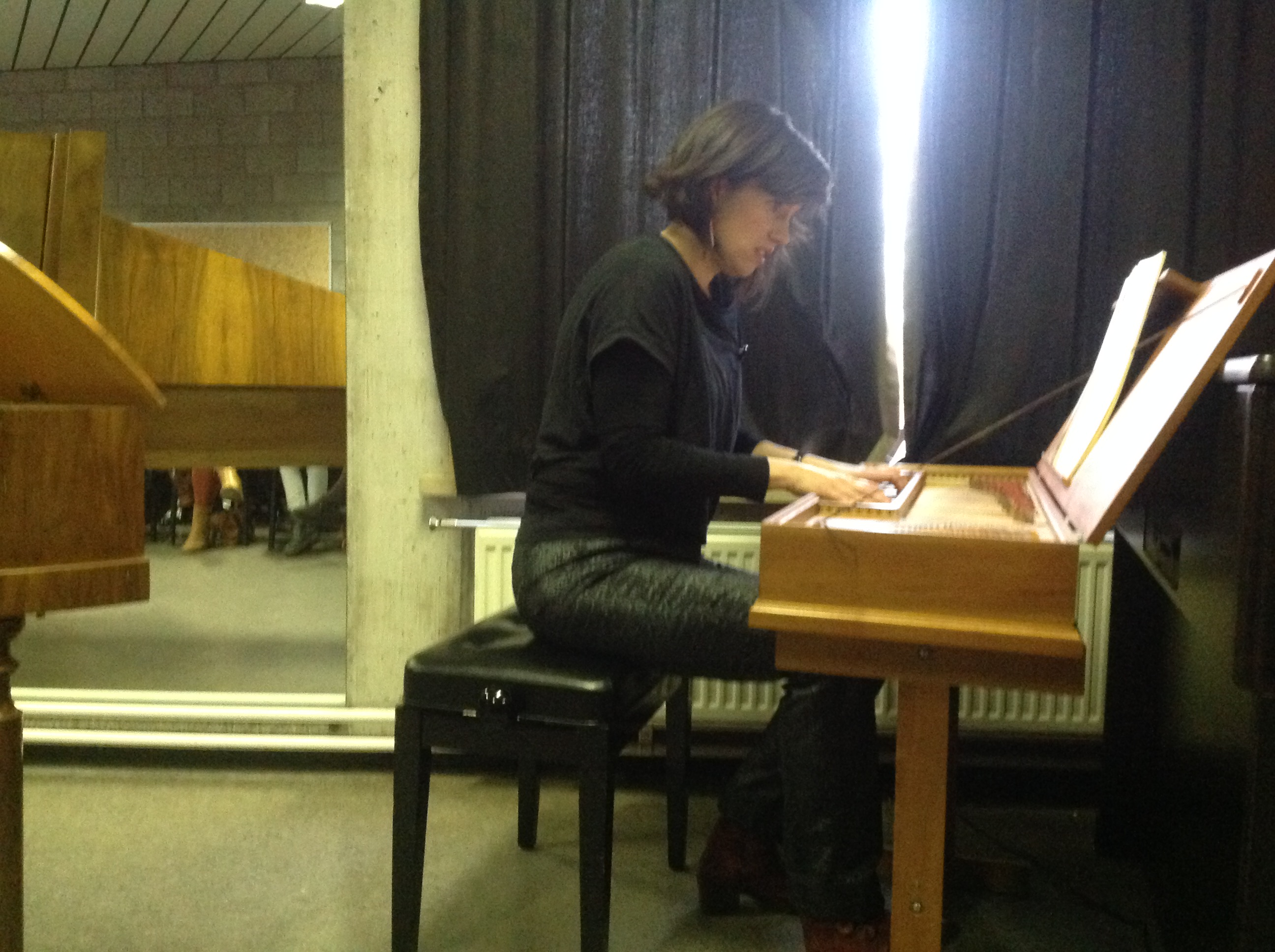 Sandra Van der Gucht, klavichord