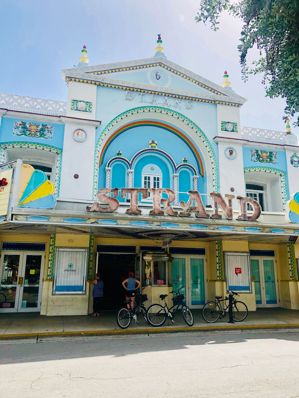 the old cinema at duval street