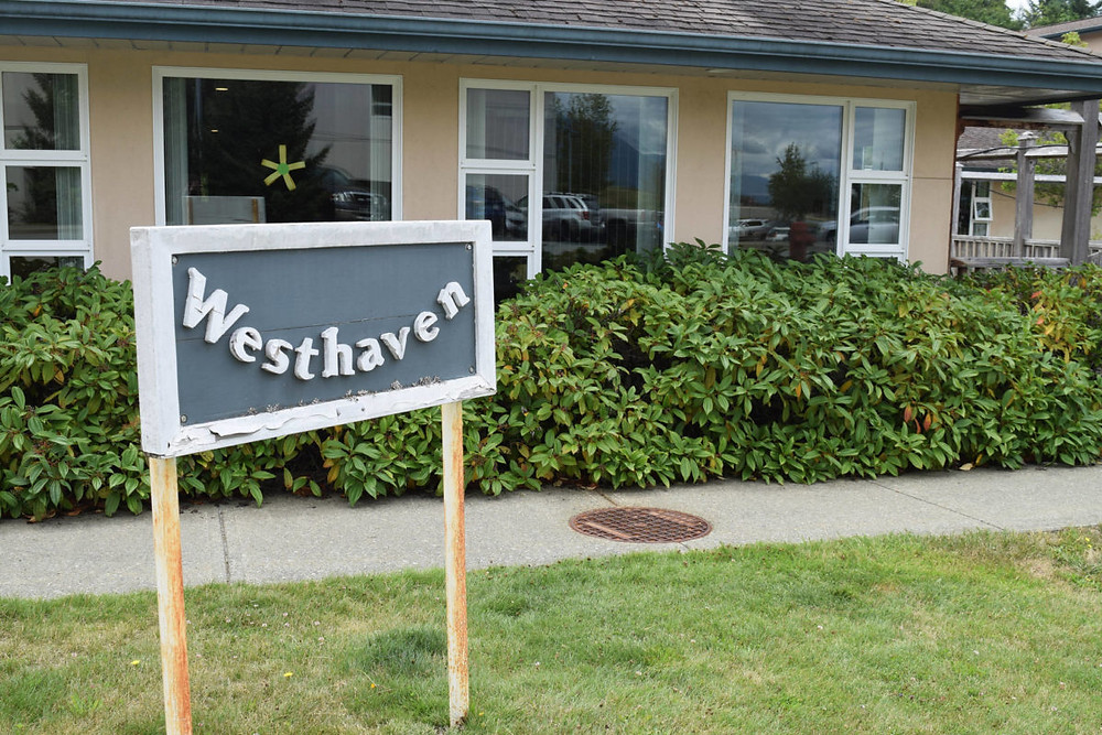 Westhaven is located next to the West Coast General Hospital in Port Alberni. ELENA RARDON PHOTO