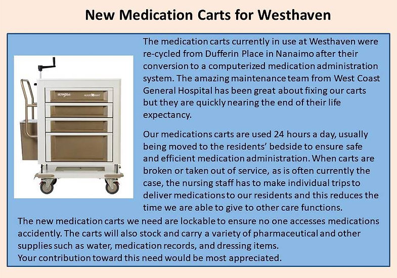 Medication Cart for Westhaven Summer 201
