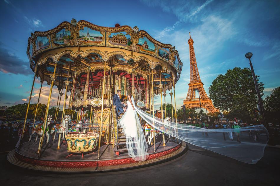 France Pre-Wedding Photography