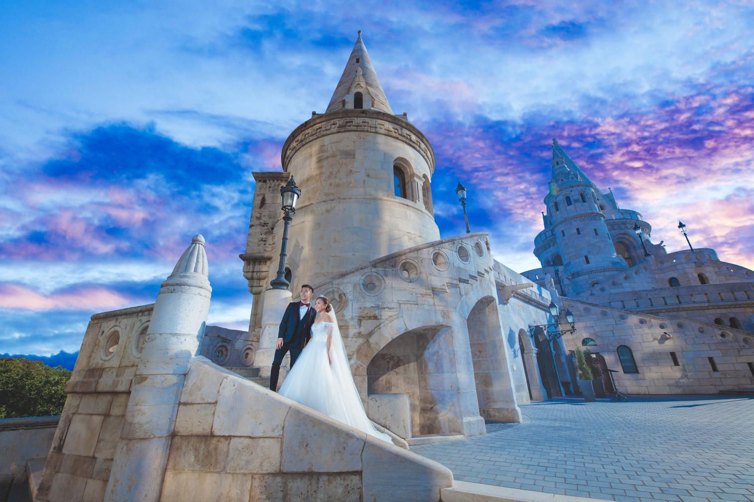 G & H | Budapest Pre-Wedding