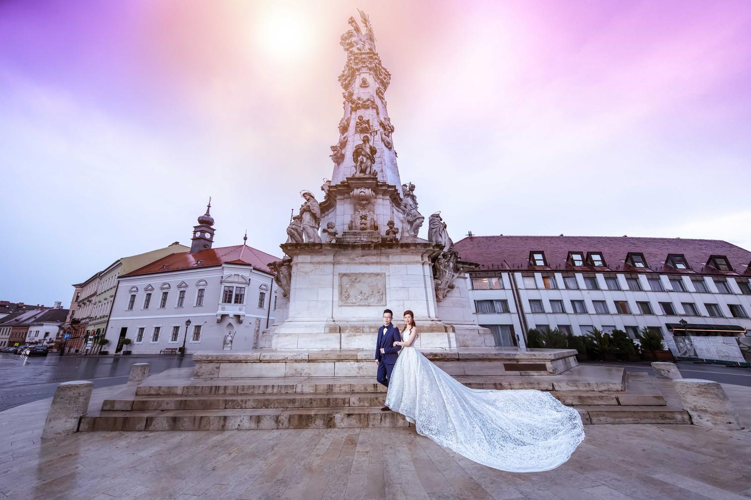 G & V | Budapest Pre-Wedding