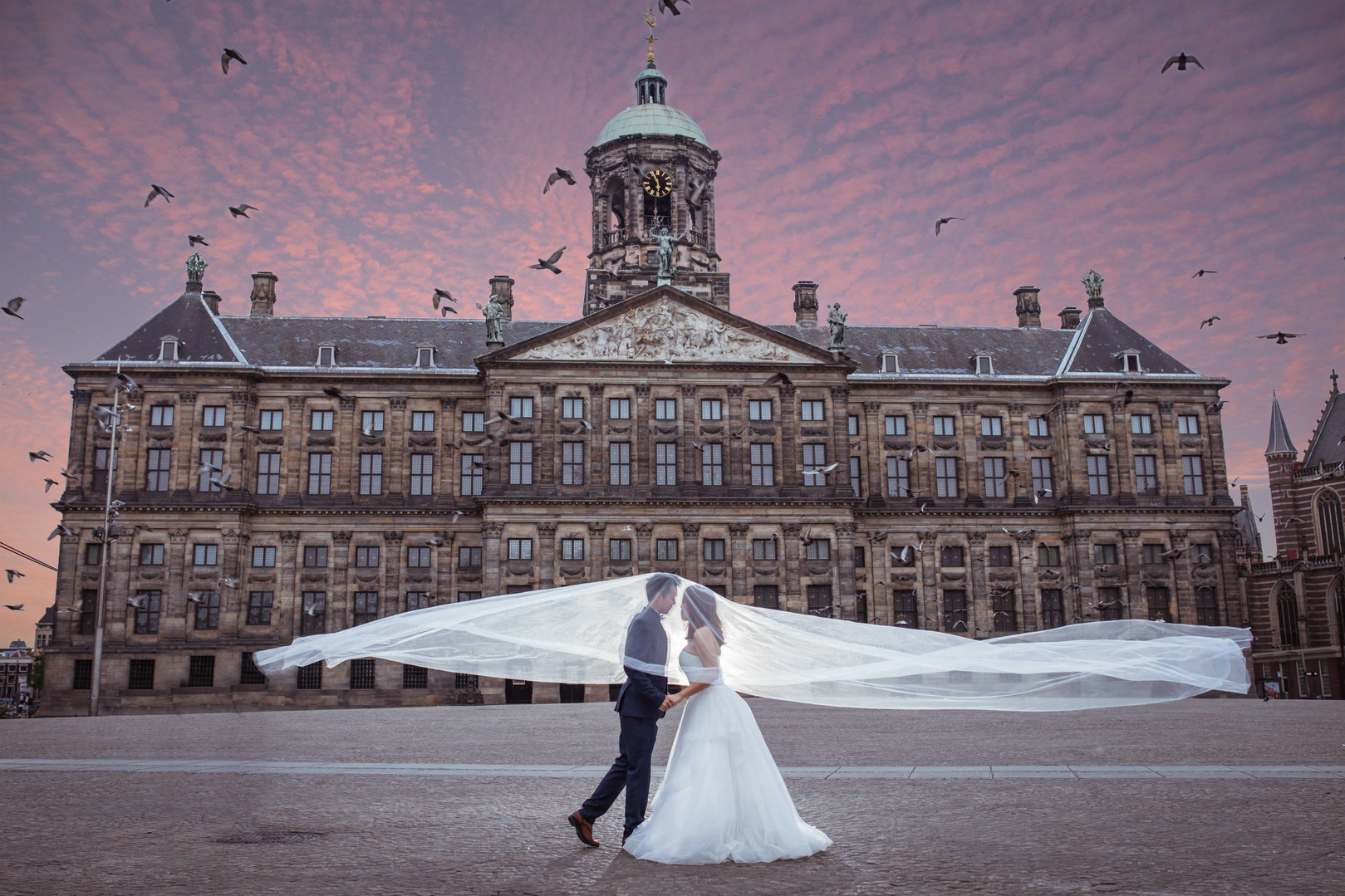 Netherlands Pre-Wedding Photography