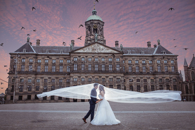 Amsterdam Pre-Wedding Photography