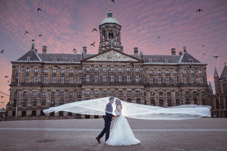 Netherlands Pre-Wedding Photography