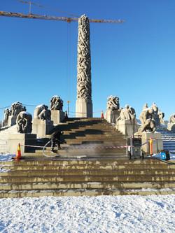 Vigelandsparken,monolitten