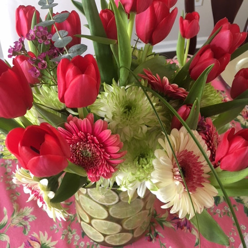 Spring Table Scape