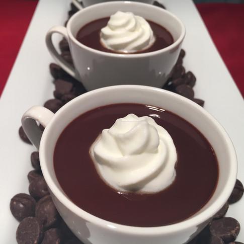 Chocolate and Espresso Pot de Creme