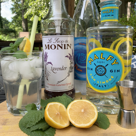 My Summer Lemon Lavender Cocktail