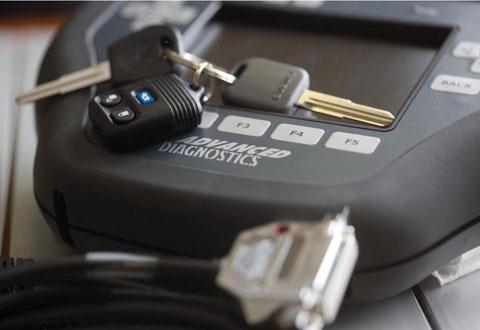 Дубликат ключа для автомобиля с чипом