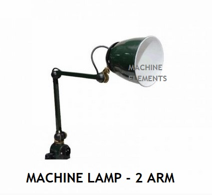 MACHINE LAMP - 2 ARM