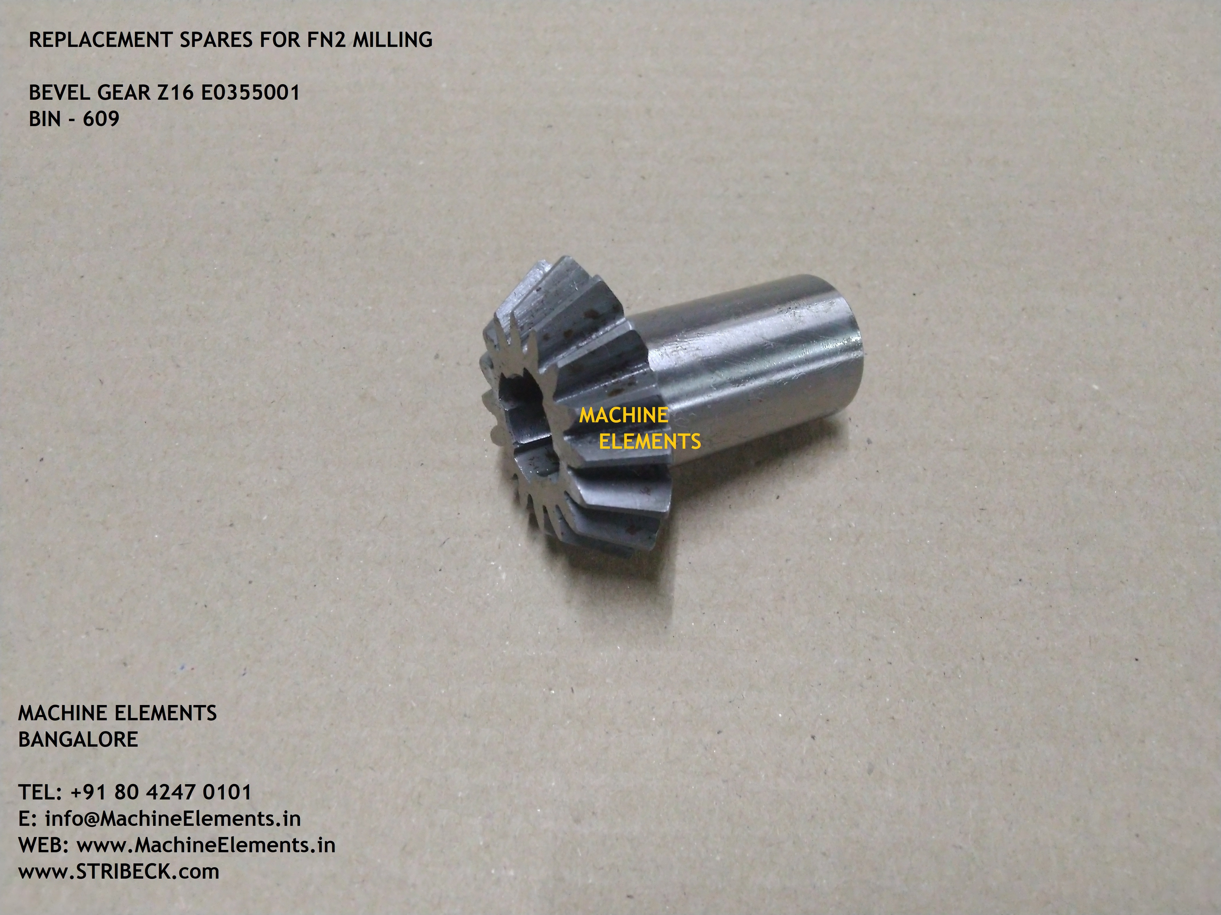 E0355001 Z16  BEVEL GEAR