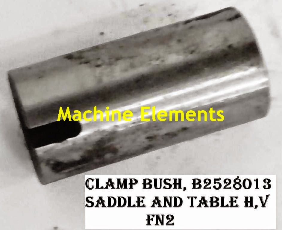 B2528013- CLAMP BUSH - SADDLE TABLE H V.