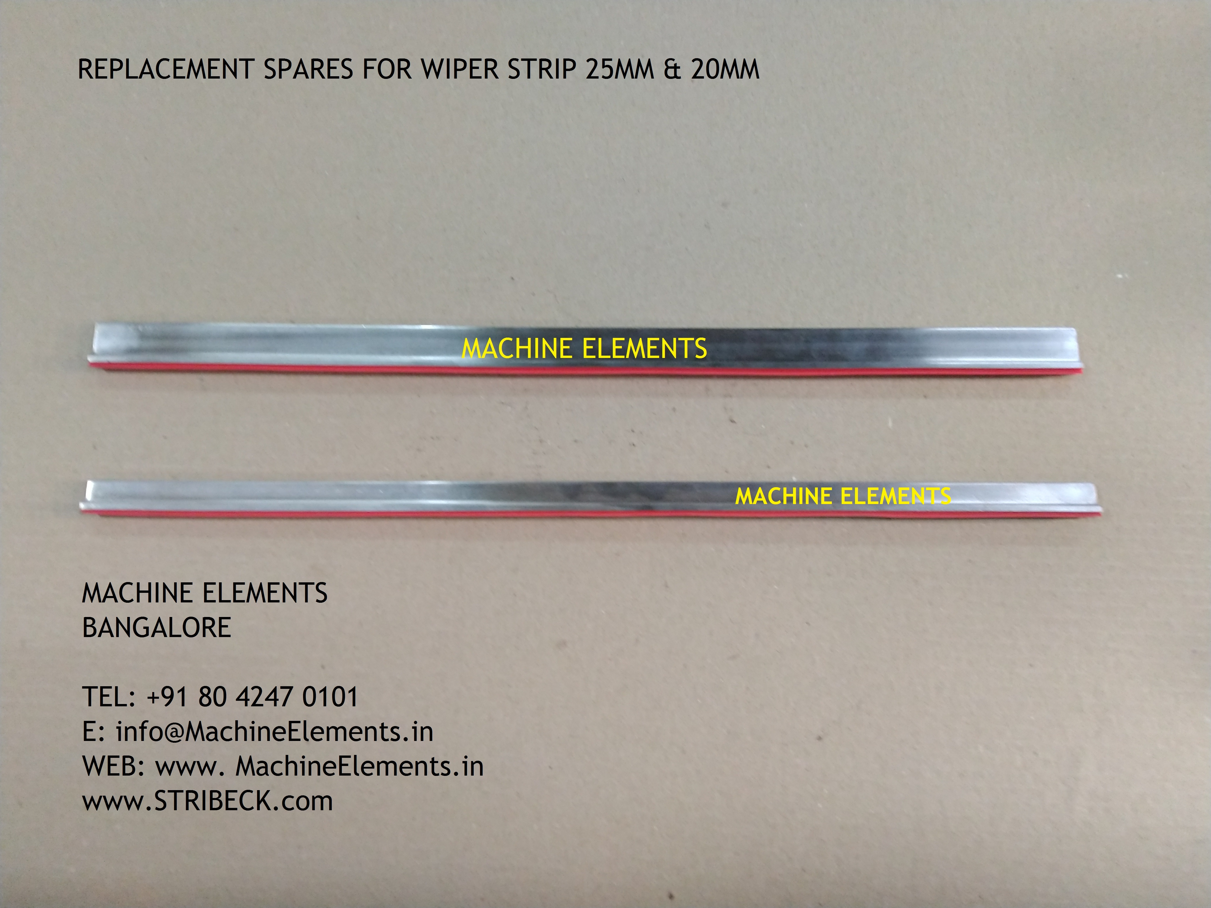 Wiper strip