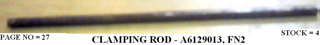 A6129013- CLAMPING ROD