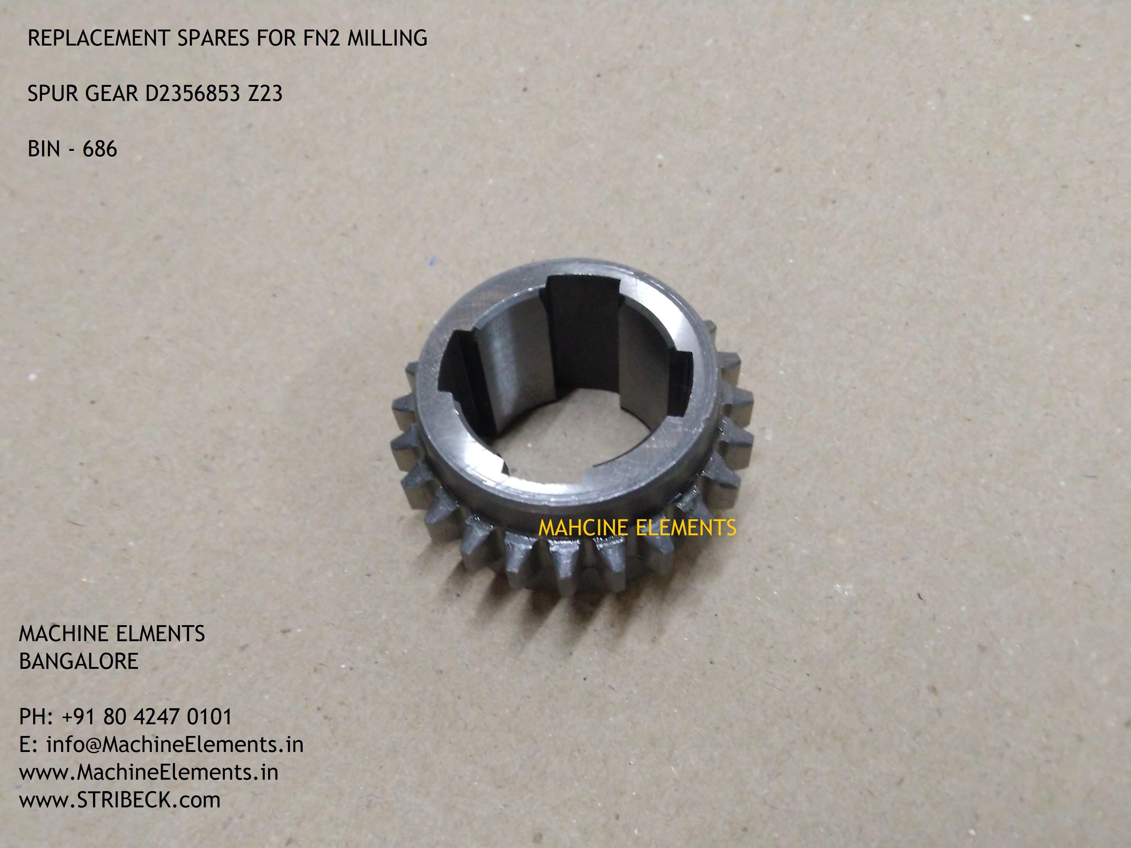 D2356853 Z23 SPUR GEAR