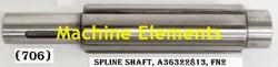 A36322813 SPLINE SHAFT
