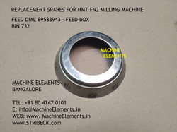 FEED DIAL  B9583943 - FEED BOX- BIN 732.