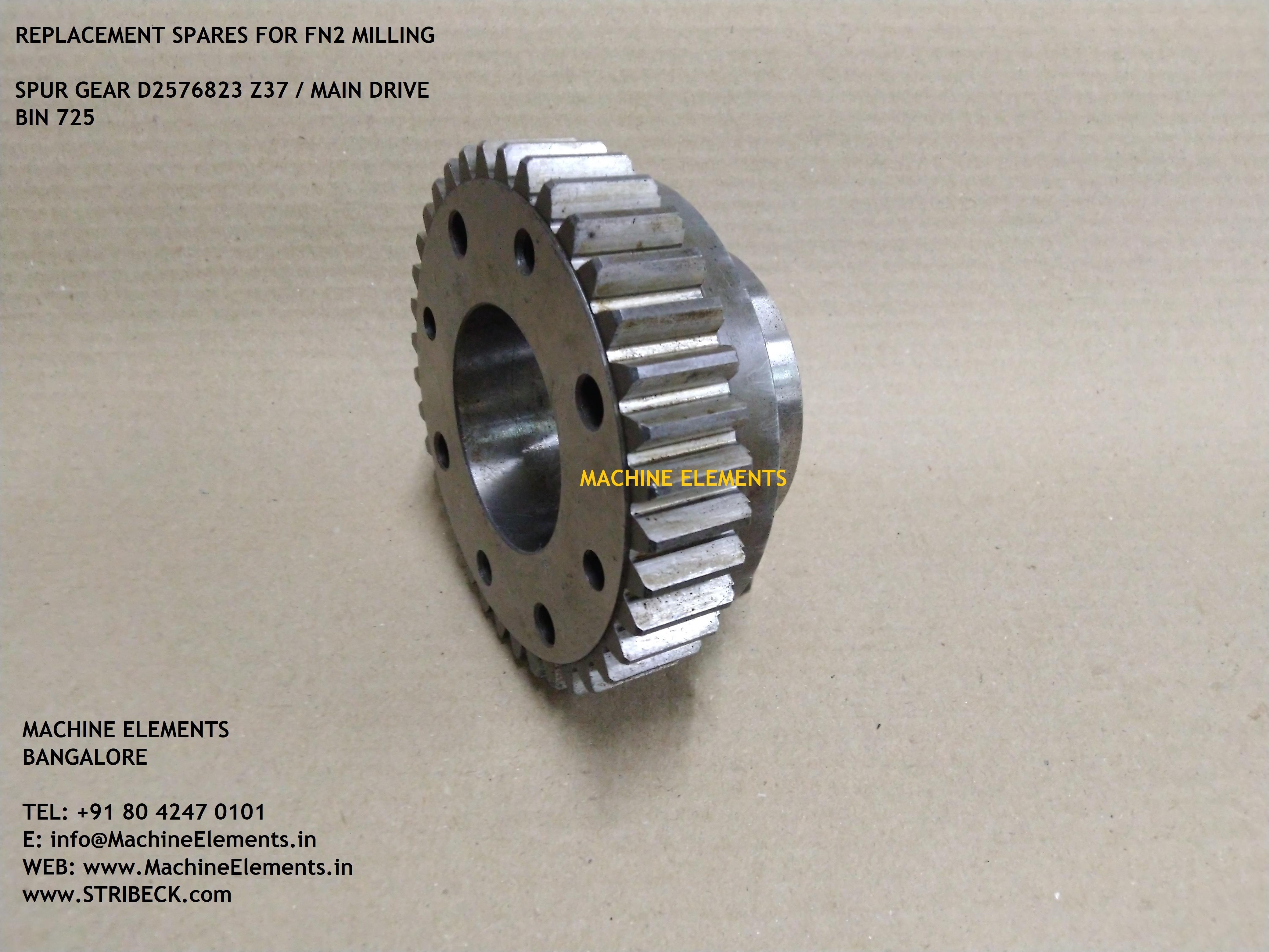 D2576823 Z37  spur gear